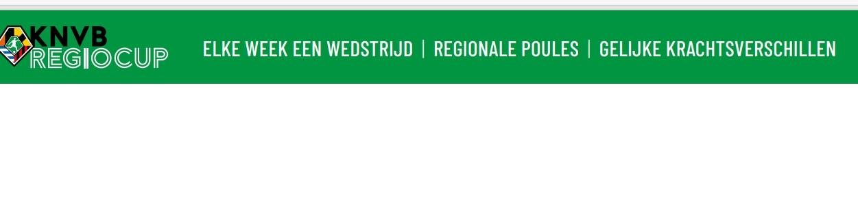 Competities senioren A categorie vervallen, Regio Cup dan maar!