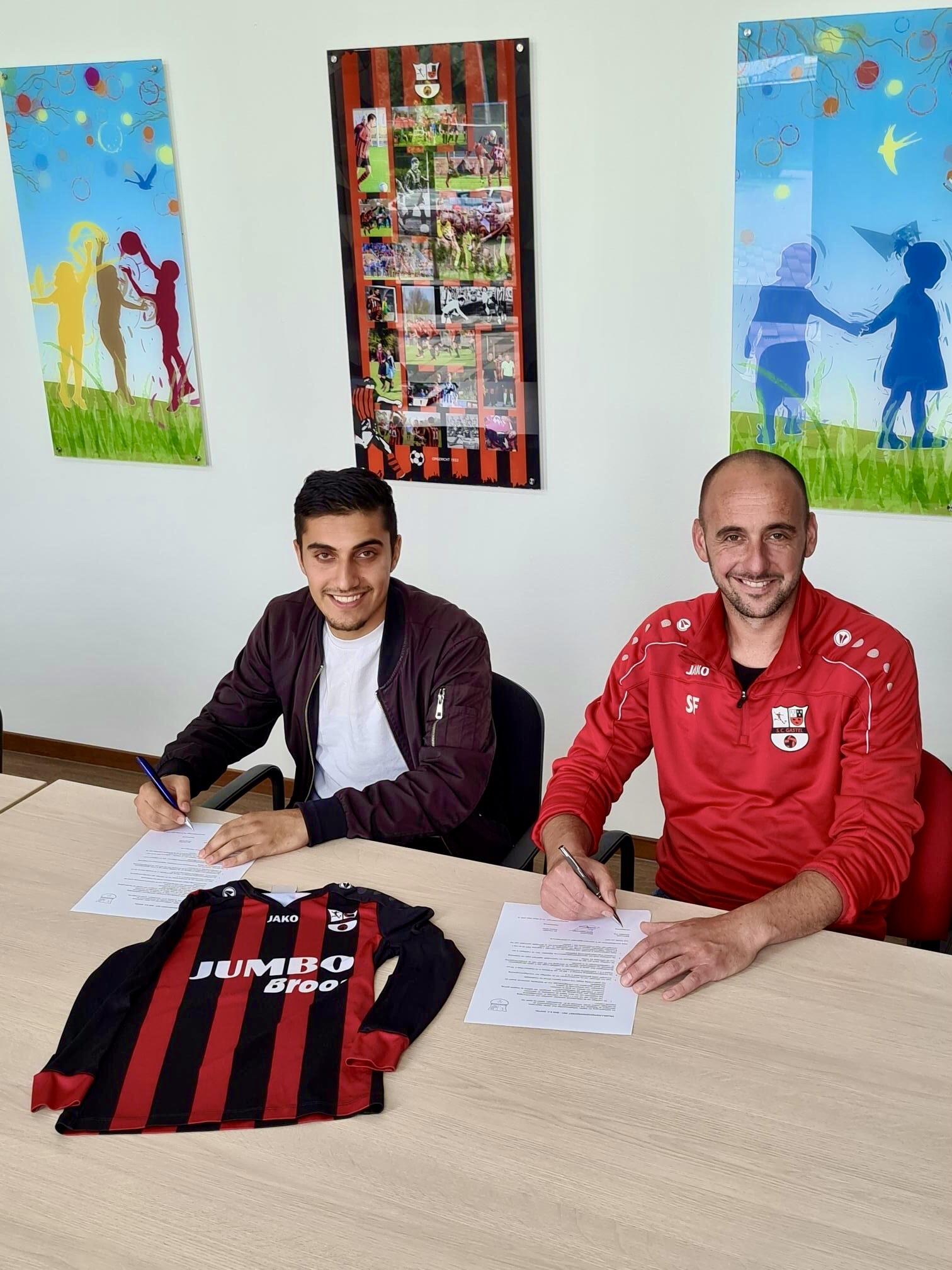 Ahmed Ismail nieuwe trainer SC Gastel 017.