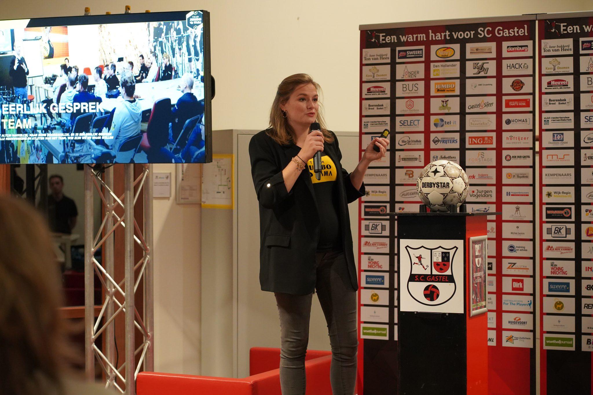 SC Gastel sponsoren genieten van inspirerende avond in samenwerking met Team Jumbo-Visma.